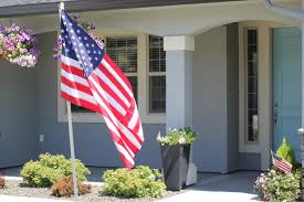 Porch Flag Teaching My Children What The American Flag Means To Me The