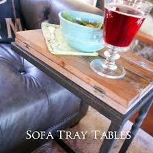 best source for affordable sofa tray tables country design style