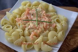 cuisiner facile et rapide pâtes au saumon fumé facile et rapide amour de cuisine