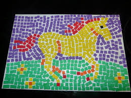 ideas for ks2 roman project paper mosaic art projects for kids mosaics pinterest mosaic