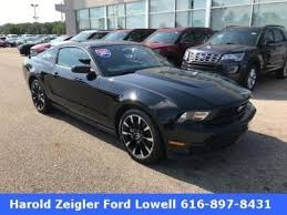 2012 Black Ford Mustang Black Ford Mustang In Michigan For Sale Used Cars On Buysellsearch
