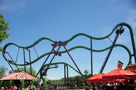 El Toro Roller Coaster Six Flags Newsplusnotes The Joker Brings U0027spinsanity U0027 To Six Flags Great
