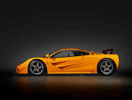 orange sports cars road racer the f1 lm