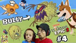 get revenge on bully draw a stickman epic 2 chapter 4 a town