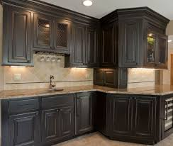 grey distressed kitchen cabinets amazing black kitchen cabinets that are right on trend for 2018