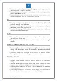 Mis Resume Example by Resume Blog Co Resume Sample Of Chartered Accountant Ca