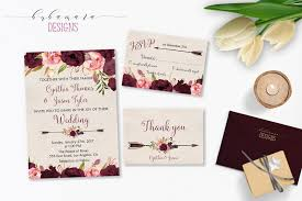 wedding invitations burgundy wedding invitation marsala burgundy pink peonies printable wedding