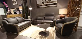 canapé et fauteuil en cuir salon canapé cremona canapé fauteuil cuir tissu relax électrique