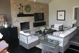 Modern Black Family Room Design Ideas  Pictures Zillow Digs - Modern family rooms