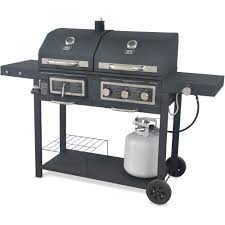 Walmart Bbq Canopy by Backyard Grill Dual Gas Charcoal Grill Walmart Com