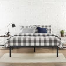 King Size Metal Bed Frames Zinus Modern Studio 14 Inch Platform 1500 Metal Bed