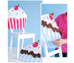 birthday chair cover cupcake chair covers all things cupcake