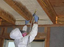 spray foam insulation a good option for flat roofs and vaulted