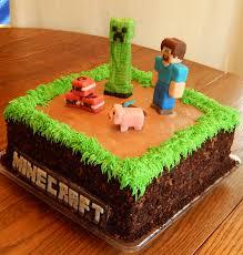 mindcraft cake minecraft cake nathan s minecraft cake 2 layer 10 in square cake