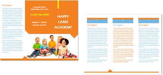 child care brochure template 25 child care owner u2013 best