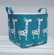 4 Tier Toy Organizer With Bins Fabric Organizer Bin Toy Storage Container Basket Turquoise Blue