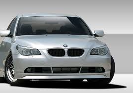 bmw 5 series front bumpers 2004 up e60 bodykitz com