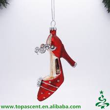 christmas ornament high heel christmas ornament high heel