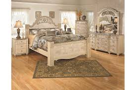 Saveaha Dresser And Mirror Ashley Furniture HomeStore - Ashley furniture bedroom set marble top
