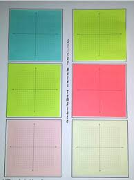 print graphs on sticky notes post it notes templates by joan kessler