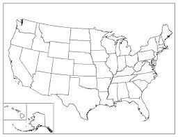 us map with alaska and hawaii blank united states map including hawaii and alaska