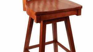 Oak Bar Stool With Back Oak High Bar Stools With Back Natural Wood Rustic Bar Chair For