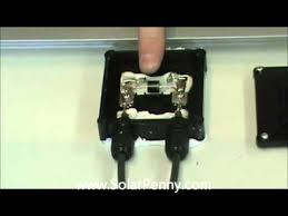 solar panel junction box inside and out solar panel basics youtube