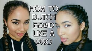 how to braid extensions into your own hair how to do a dutch braid a step by step tutorial boxer braids