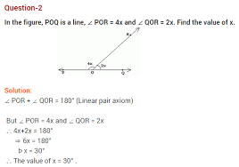 lines and angles ncert extra questions for class 9 maths
