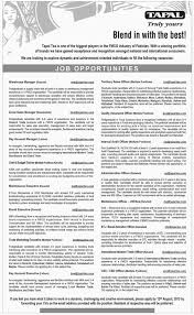 pec jobs jobs in tapal tea for warehouse manager territory sales