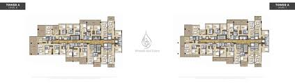 veduta by damac tower a level 6 7 floor plan