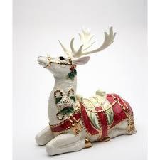 christmas deer outdoor christmas deer wayfair