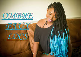 hair style with color yarn diy ombre faux locs yarn locs wraps youtube