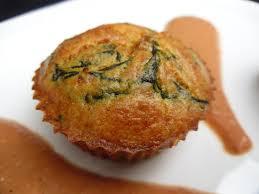 cuisiner des feuilles de blettes gourmande ou passionnée muffins au chèvre et feuilles de blette