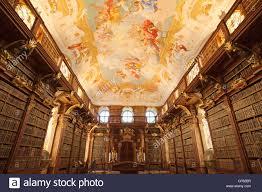 M El K He Austria Melk Abbey Library Stockfotos U0026 Austria Melk Abbey Library