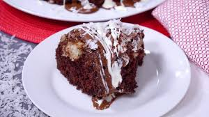 chocolate macaroon tunnel cake recipes from heaven