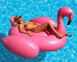 com giant flamingo inflatable pool toy 80 inches usa seller