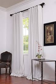 Gray And White Blackout Curtains Blackout Curtains White New Interiors Design For Your Home