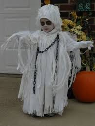 Girls Ghost Halloween Costume Easy Ghost Costume Hood Child Ghost Costumes Hoods