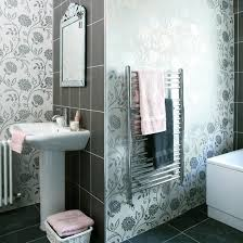 Modern Wallpaper For Bathrooms Modern Wallpaper For Bathroom Century Room Backed Mentioned