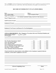 emergency drill report template home emergency evacuation plan template fresh home design