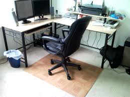 White Desk Pad Desk Chairs Office Chair Rug Pads Desk Mats For Laminate Floors