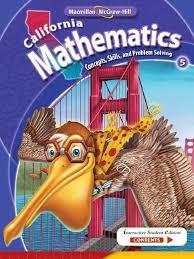 Mcgraw Hill Math Worksheets California Mathematicsgrade 5 Exponentiation Function