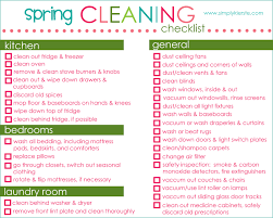 Basic Household Items Checklist House Cleaning House Cleaning Free Chore List Printable