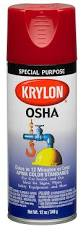 amazon com krylon osha color paint safety blue 12 ounce aerosol