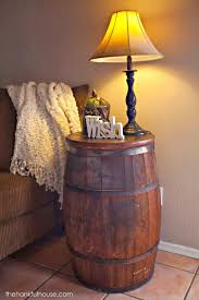 whiskey barrel side table best bedroom end tables ideas on decorating creative small whiskey