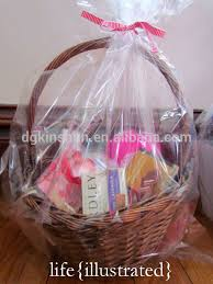 gift basket wrapping paper clear plastic cellophane basket gift wrap bag gift baskets buy