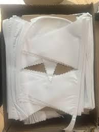 guirlande fanion mariage fanions blanc tissu
