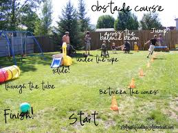 Backyard Obstacle Course Ideas Outdoor Obstacle Course Ideas For Preschoolers All For The