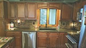 backsplash best faux brick kitchen backsplash home design